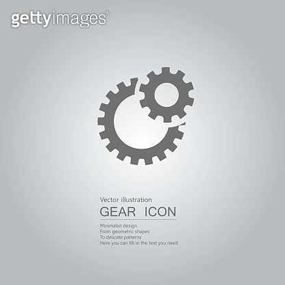 Gear concept icons