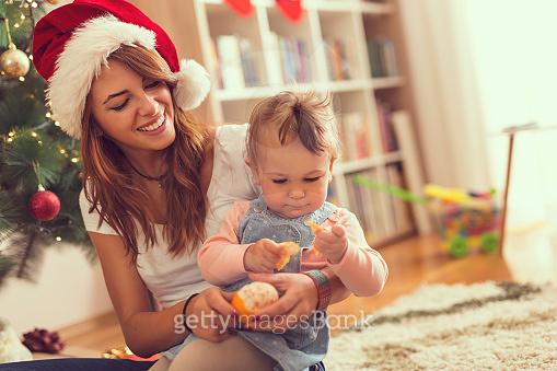 Baby and Mom's Christmas