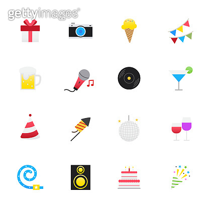 Color Icons Flat Style
