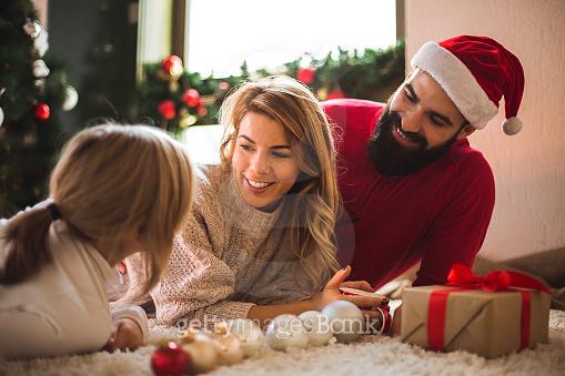 크리스마스는 가족들과