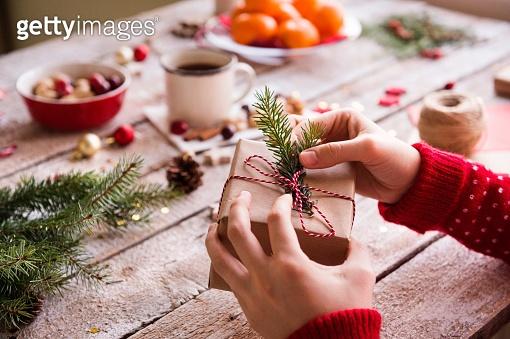 크리스마스 선물준비