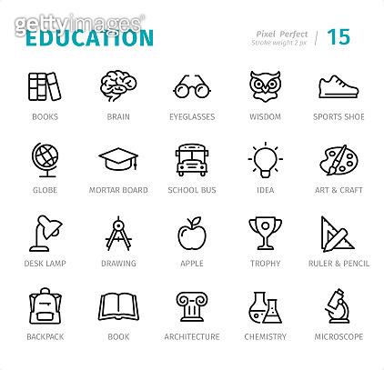 교육관련 아이콘세트