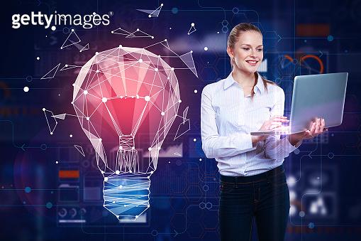 Future innovations, digital screen