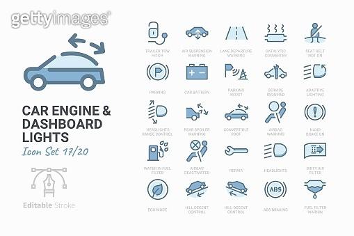 Icon set - Car