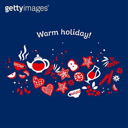 Winter holiday pattern