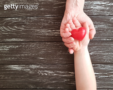 love & hand