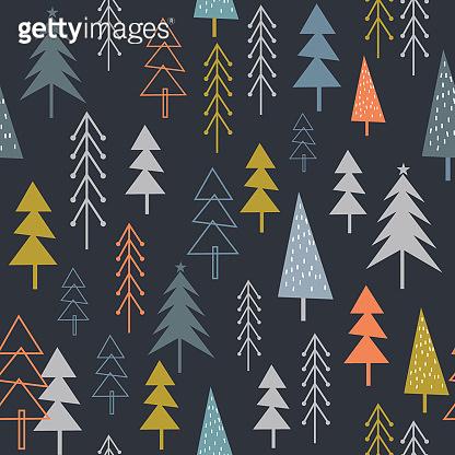 Forest pattern background