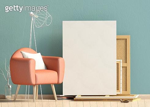 interior design and canvas