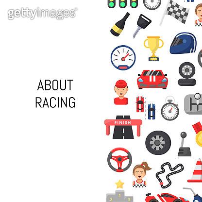 Racing icon