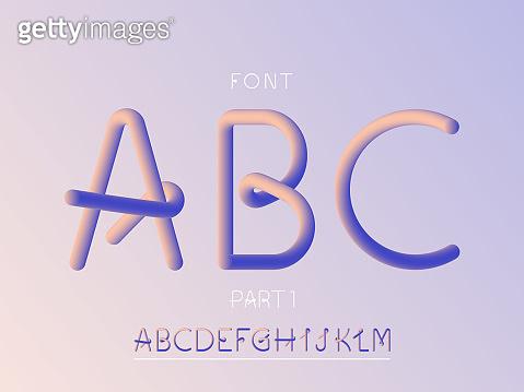 Round typography