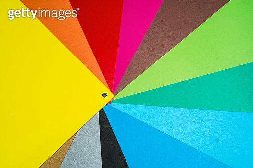 Color charrt palet background