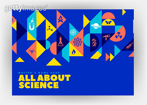Science related Print design