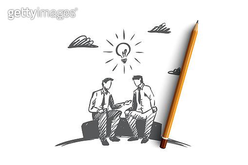 Sketch concept illustration
