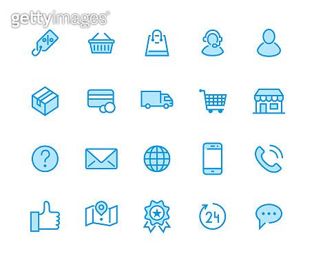 Life style icon set