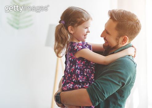 father and daughter