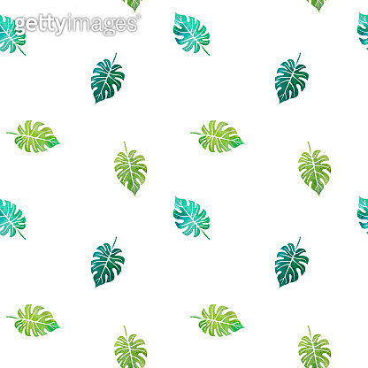 pattern with leaves