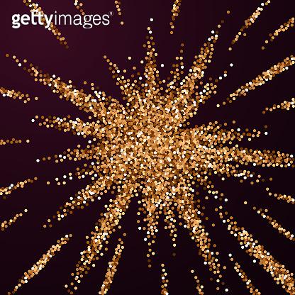 Glitter luxury sparkling