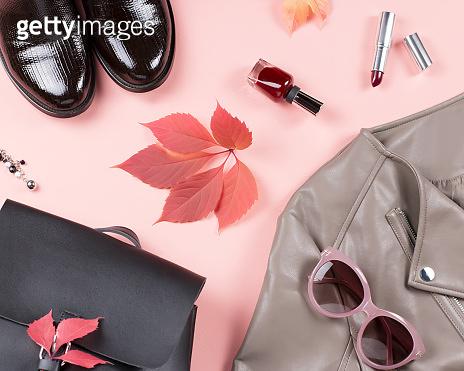 Autumn fashion concept