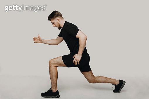 운동하는 남자