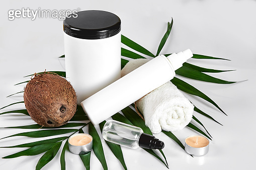 White cosmetic products