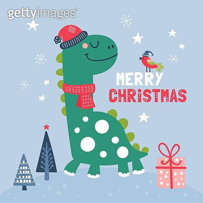 Cute Christmas illustration