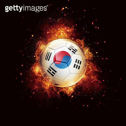 flag soccer ball