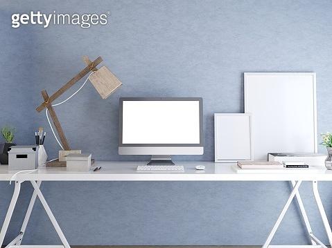 Mockup monitor
