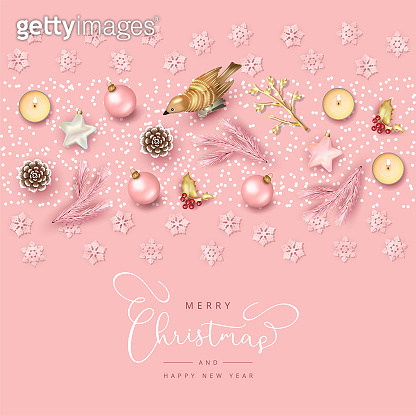 Christmas Top View Background