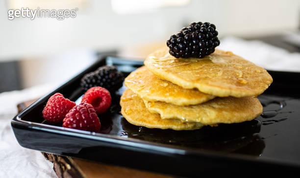Vegan dessert pancake