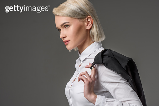 stylish businesswoman