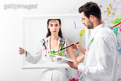 그림 그리는 커플