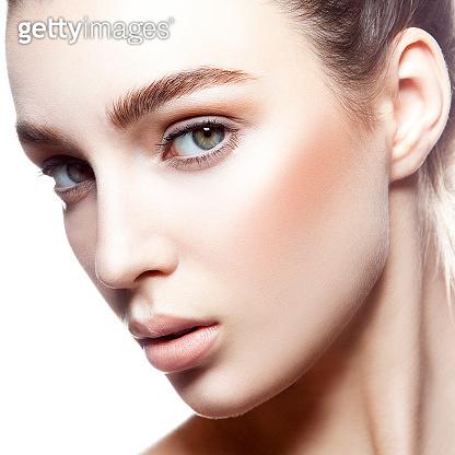 Close-up beauty face