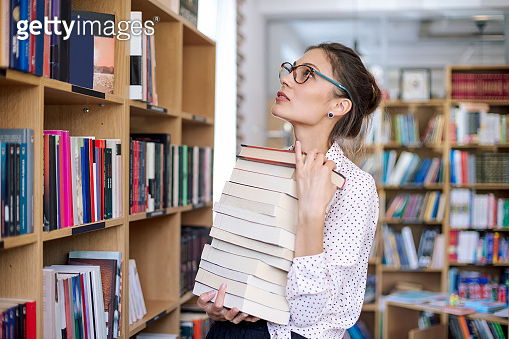 도서관의 그녀