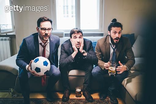 축구경기 관람