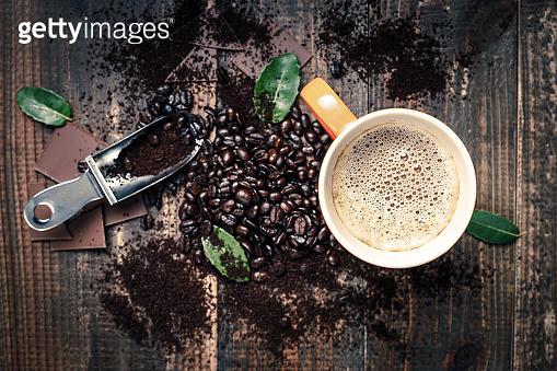 따듯한 커피한잔