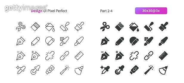 Icon set - Editing