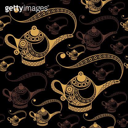 Arabic oriental pattern