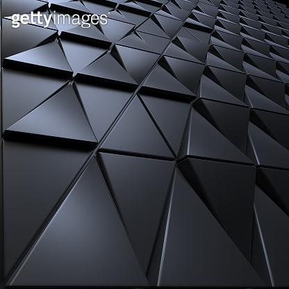 Polygonal triangles shape background
