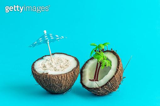 tropical island, Coconut
