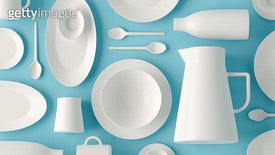Tableware layout