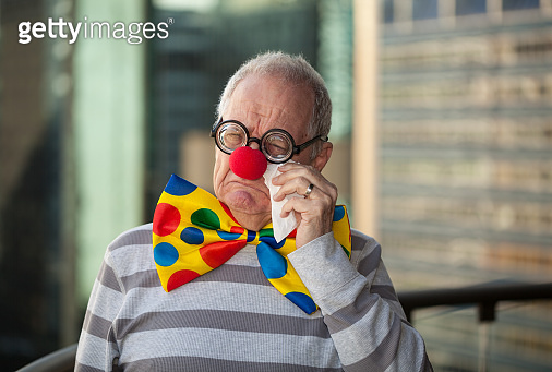 Sad Office Clown