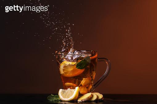 Delicious lemon tea