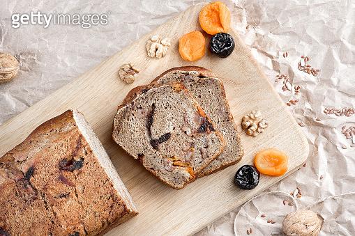 Dessert rye bread