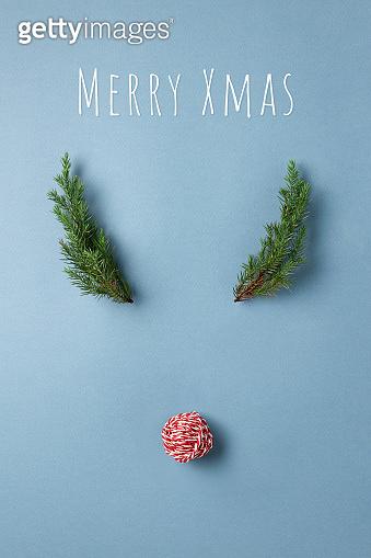 Christmas card & gift box