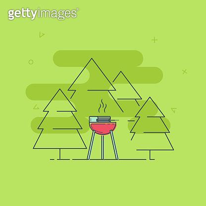 make a barbecue