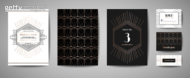Luxury graphic template