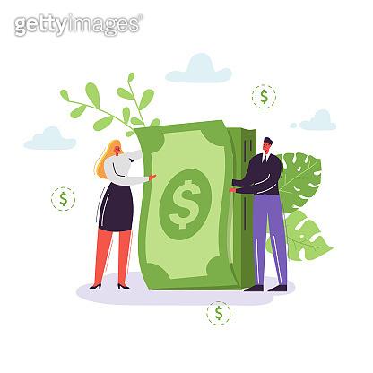 Financial concept illustration