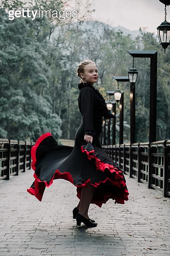 Flamenco in the park
