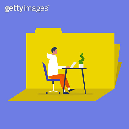 Modern lifestyle illustration