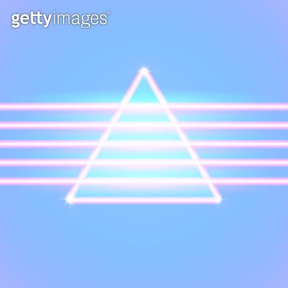 Neon lines background